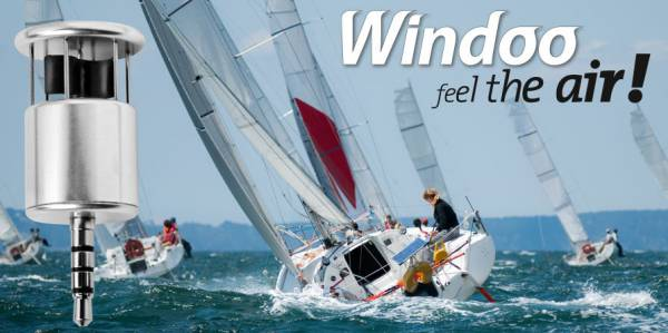 WIN1 Windoo 1, Windmesser und Temperatur am Schlüsselbund für iPhone und Android