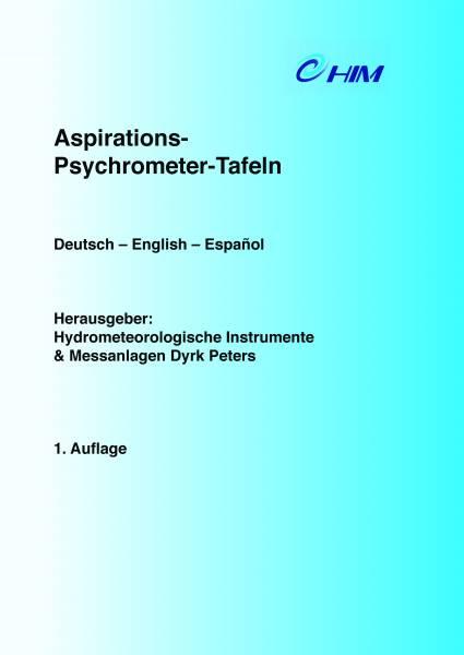 Aspirations-Psychrometer-Taflen