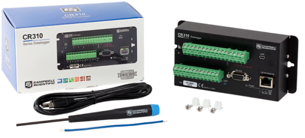 Datenlogger CR310 mit Thermocouüle Verpackung