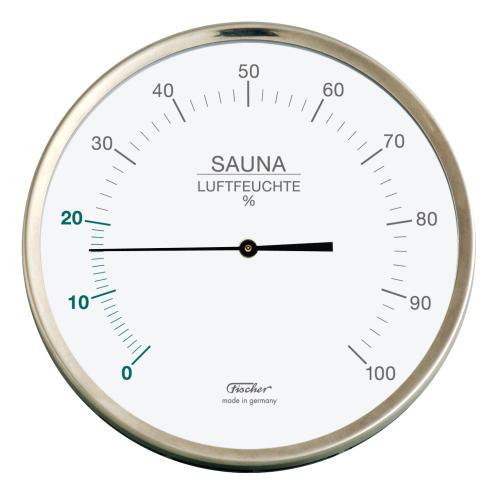 Sauna-Hygrometer mit synthetischen Fasern