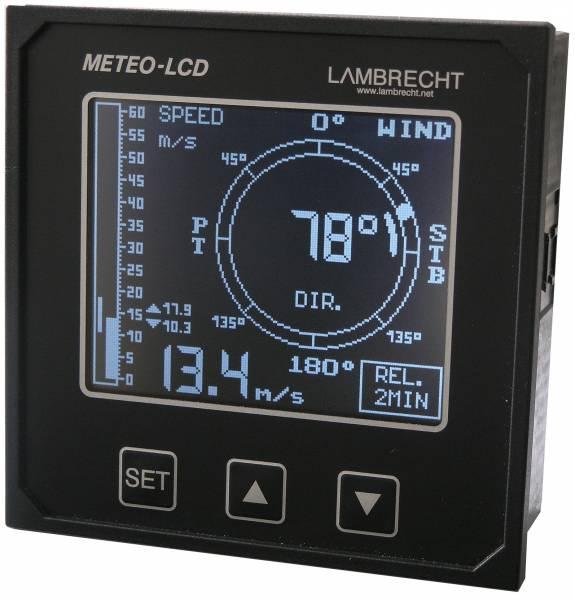 Marine wind indicator METEO-LCD-NAV