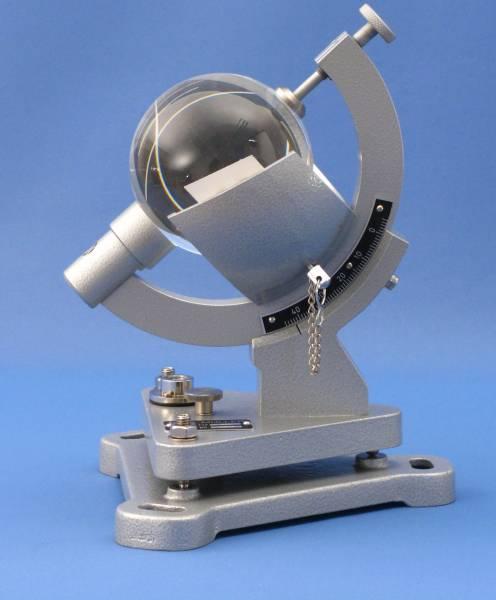 Glaskugel für Sonnenscheinautograph