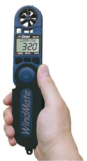 WindMate 350 - WM 350 Windrichtung & Seiten-Windmesser + Datenlog, Barometer, Temperatur, Luftfeucht